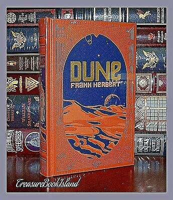Dune by Frank Herbert New Sealed Collectible Leather Bound Deluxe Hardcover
