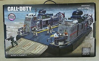 Mega Bloks  Collector Series Call of Duty Hovercraft 06859 - 2795 pcs
