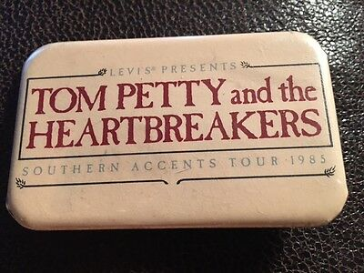 Tom Petty and the Heartbreakers  Southern Accents Tour 1985 Pin -rare!!