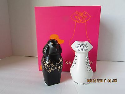Kate Spade Woodland Park Cat & Dog Salt & Pepper Shaker Set..net