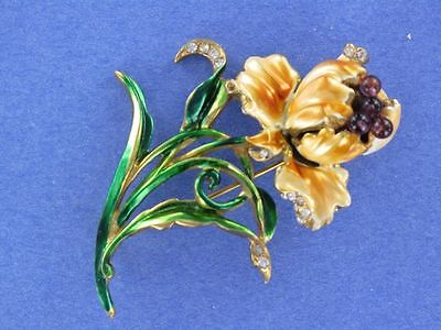 Magnificent DuJay flower pin (PN1349)