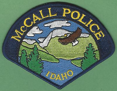 Mccall Idaho Police Patch