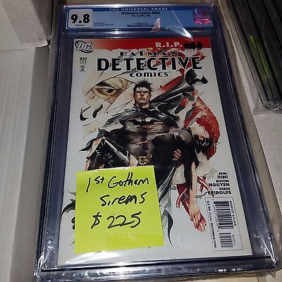 Detective Comics #850, 1st Appearance of Gotham City Sirens, CGC Graded 9.8