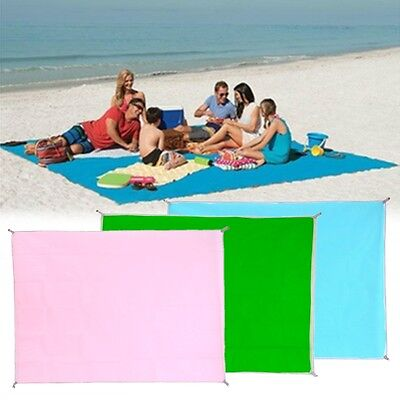 120x150cm Polyester Large Beach Sand Free Magic Mat Outdoor Camping Picnic Pad