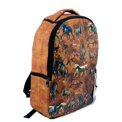 New Backpack - Horses and Horses - FK05  Backpack Brigalow