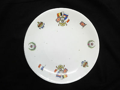 """1st WW Commemorative plate """"FOR RIGHT AND FREEDOM"""""""