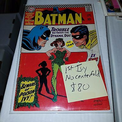 Batman #181, 1st Appearance of Poison Ivy (Missing Poster)
