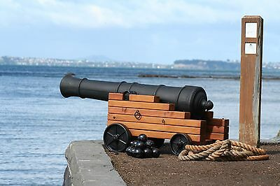 Incredible 4 foot Halloween Pirate Cannon Barrel