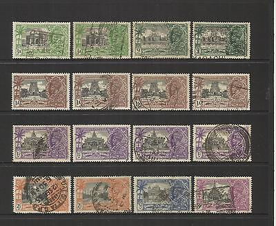 India ~ 1935 King George V Silver Jubilee (Used Set)