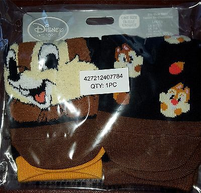 New Disney Store Chip and Dale Socks for Women ~Mickey and Friends~ Two Pairs