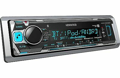 Kenwood KMR-M318BT MP3/USB Marine Digital Media Player Bluetooth SiriusXM Ready