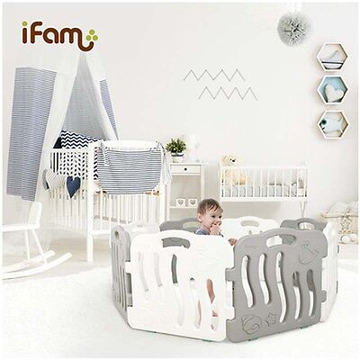 [IFAM] Shell Baby Room 2pcs SET Self Baby Room Standing Fence [Choose 1 Color]