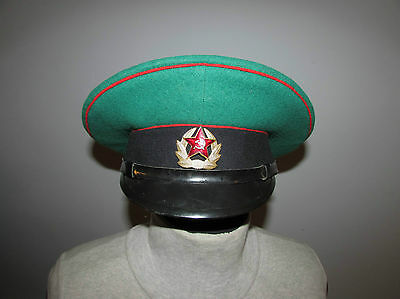 Russian soviet army hat cap soldiers border troops badge uniform frontier guard