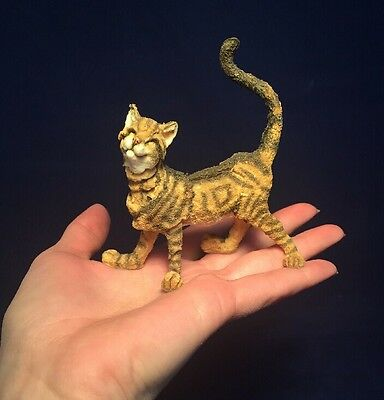 Rare Miniature A Breed Apart Ginger Dandy Tabby Cat Figurine Small