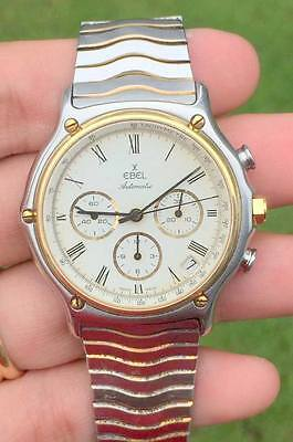 Ebel 1911 Chronograph Automatic 18KT GOLD WATCH