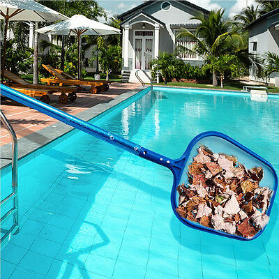 1Pc Professional Leaf Rake Mesh Frame Net Skimmer Cleaner Swimming Pool Spa Tool