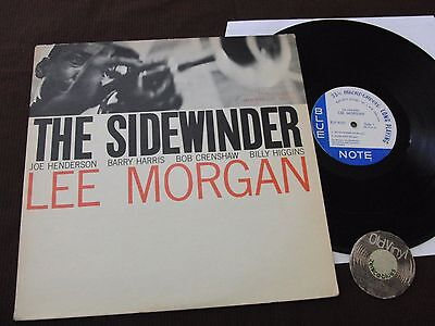LP Lee Morgan The Sidewinder USA MONO LP VAN DELDER 'EAR' Blue Note 4157 43 West
