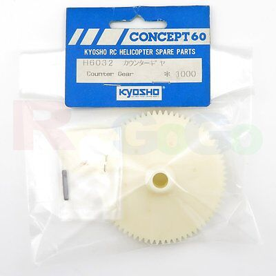 Kyosho H6032 Counter Gear Concept 60 Helicopter Parts