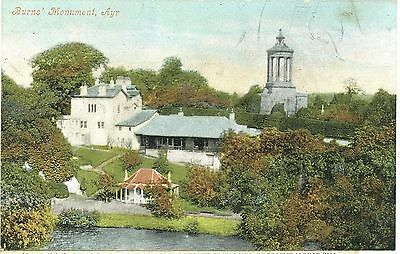 B1-The Bandstand,rothesay Bute,scotland- Pp-Postcard,posted 1913