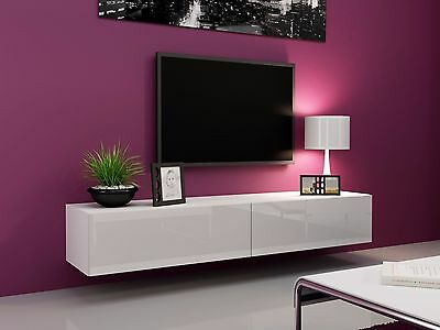 Seattle 21 white TV Unit / Modern television stand / TV Cabinets/ TV Media unit