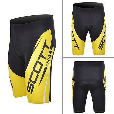 Mens Cycling  Bicycle Race Shorts Regular Padded Tights Pants Trousers Bottoms