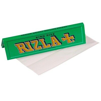 Rizla Green King Size Cigarette Smoking Rolling Papers Genuine Paper Tobacco New