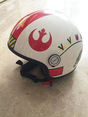 Star Wars - Casco Luke Skywalker homologado para moto