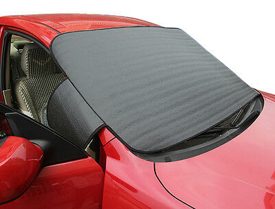 Car SUV Windshield Cover Snow Ice Protector Sun Shield Storage Pouch Windproof