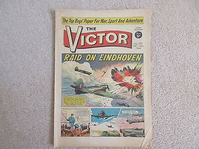 THE VICTOR COMIC No 295 - OCT 15th 1966 - RAID ON EINDHOVEN