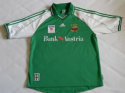 Sk Rapid Vienna Rapid Wien 2000 Austrian Football Home Shirt Werner 2 Mens Large