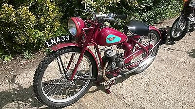 James Comet 1950 98Cc Project Classic Motorcycle