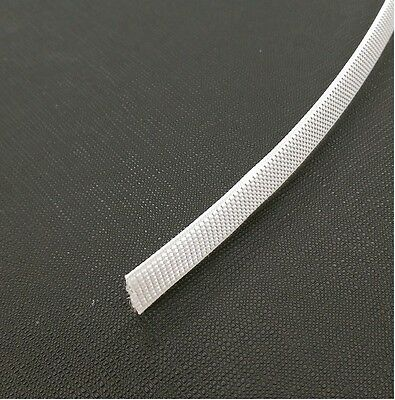 Polyester boning 12mm easy sew in white 10 yards