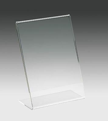 Acrylic Poster & Menu Holder Perspex Leaflet Display Stand A3 A4 A5 A6 A7 A8 A9