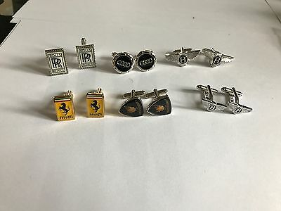 Job Lot Collection of 13 cufflink pairs (plus 5 extra for free) NEW