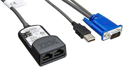 IBM selector wired USB KVM cable 39M2895