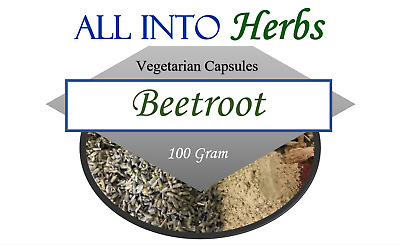 Beetroot Certified Organic 100 Gram Powder