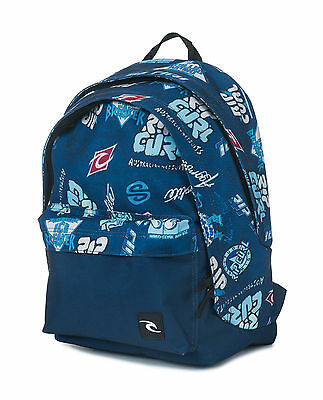 Rip Curl Mens/Boys Backpack.heritage Double Dome Large Rucksack Bag 7W Bpiw4 70