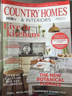Country Home And Interiors magazine April 2017