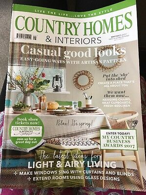 Country Homes And interiors Magazine May 2017