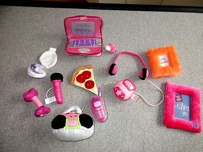 Friends 2B Made ACCESSORIES Make Up Cd Player Boom Box +  Lot K60