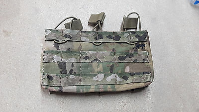 Tasmanian Tiger Magazintasche 3-Single Mag Pouch Multicam