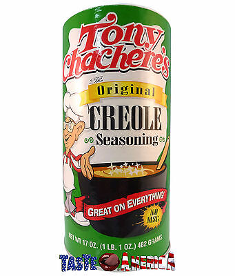 Tony Chacheres Original Creole Seasoning Larger 482g Tub Chachere's