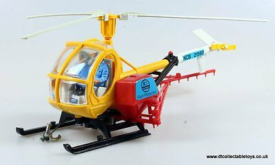 Britains Farm 9511 HUGHES ICI HELICOPTER CROP SPRAY Excellent 1/32 Scale Model