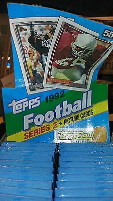 1992 Topps Unopened  Pack  Football Cards  From Box Series 2