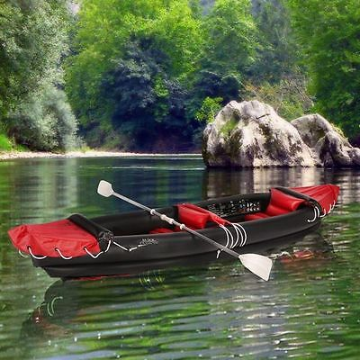 Inflatable Canoe / Kayak Adventure Floating Boat For 2 Adults, Boat Set