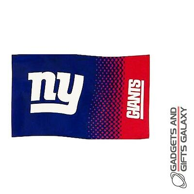 Official Licensed The New York Giants Flag 5' X 3' American Football