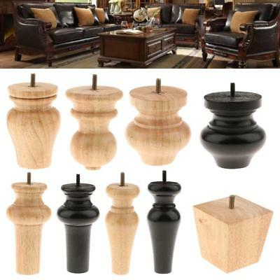Wooden Furniture Legs/ Feet-- Lounge Couch Sofa Chair Cabinet Legs, 6 Designs