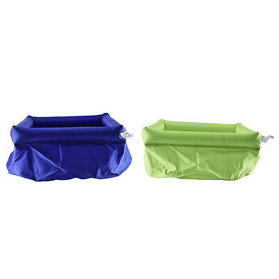 8L Outdoor Foldable Wash Bag Basin Bucket Pot Sink for Camping Travel Hiking