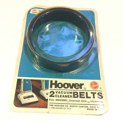 Hoover Vacuum Cleaner Belts 2-Pieces Vintage New Old Stock #40201-030/38528-008