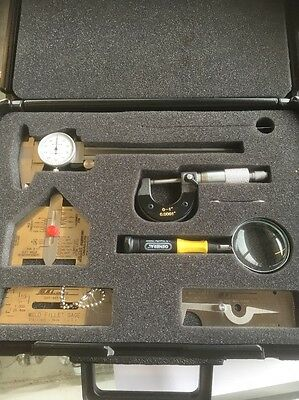 Gal Gage American Welding Society Welders Inspection Tool Kit w/Case